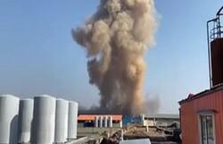 انفجار مهیب در شهرک صنعتی سلفچگان قم با ۲ کشته