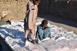 فعالیت پویش برکت برای کمک به نیازمندان سیستان و بلوچستان
