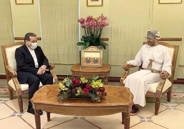 Irakçi, Maskat'ta Umman Dışişleri Bakanı ile görüştü