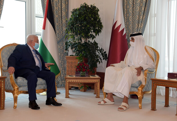 Emir of Qatar supports formation of Palestinian state