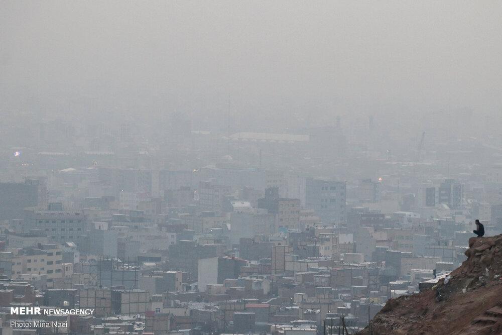 دست و پنجه نرم کردن هوای اراک با معضل آلودگی / تداوم شرایط ناسالم