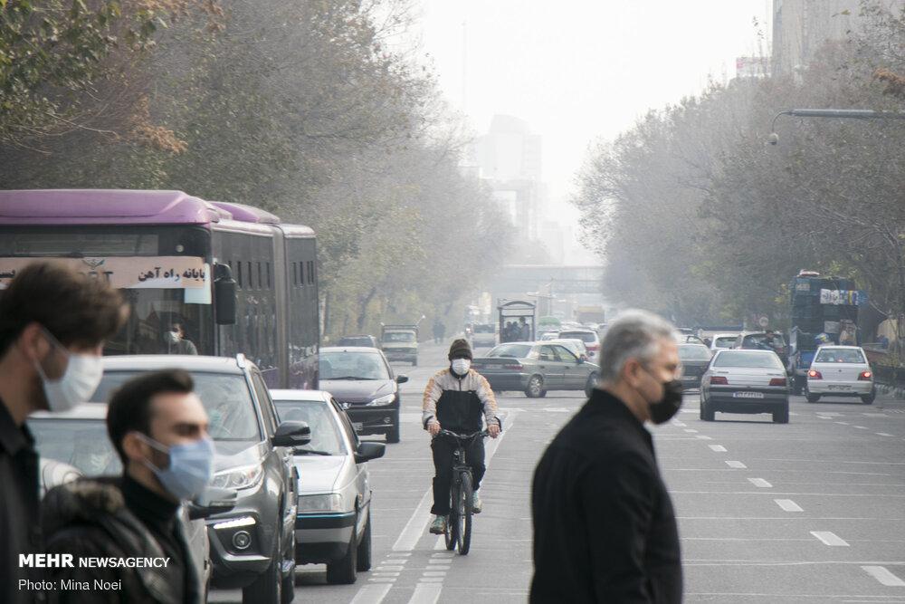 هوای پایتخت بسیار ناسالم است