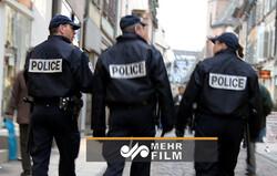 فرانسیسی پولیس کا صدر میکرون کے خلاف مظاہرہ