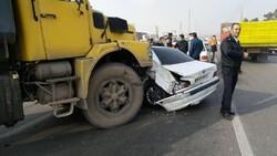 کاهش ۱۴ درصدی تلفات تصادفات در ۸ ماه اخیر