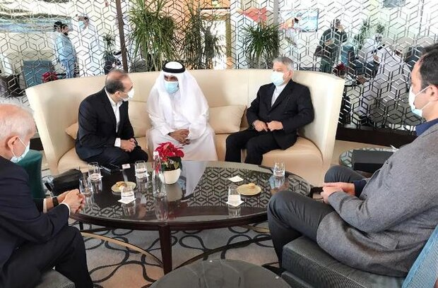 Tehran confers on sports coop. with Baghdad, Doha