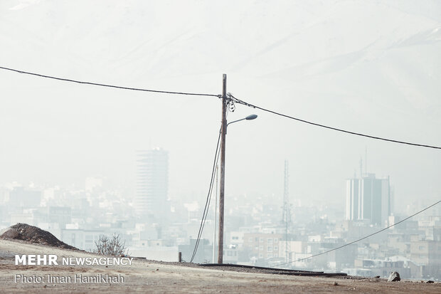 Air pollution in Hamedan