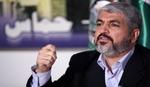مشعل: ايران تقف مع الحق الفلسطيني ونشكرها على ذلك