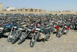 رفع توقیف موتورسیکلتهای رسوبی با تسهیلات ویژه در تربت جام