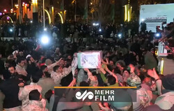 VIDEO: Unseen aspects of Martyr Gen. Soleimani funeral