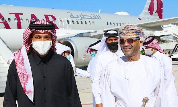 وصول وزير خارجية قطر الى سلطنة عُمان في زيارة غير معلنة