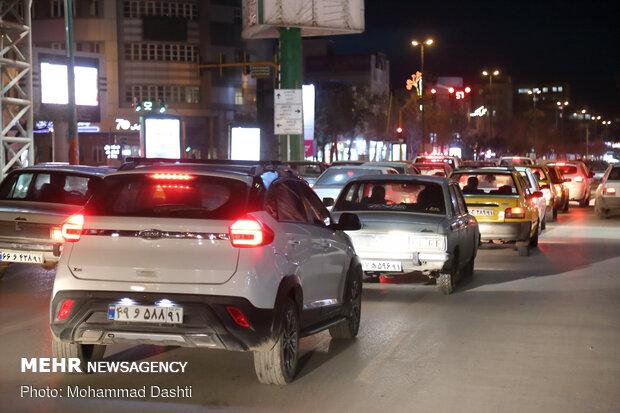 آماده باش پلیس برای کنترل ترافیک بهشت زهرا در پنج شنبه آخر سال