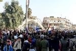 Suriye'de Türkiye'yi kınama gösterisi