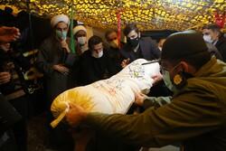سنندج میں گمنام شہیدوں کی تشییع اور تدفین