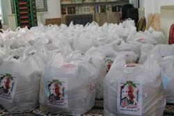 توزیع بیش از ۱۶۰ بسته معیشتی در شهرستان های تالش و رضوانشهر