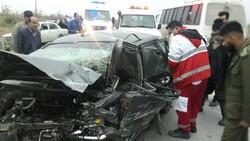حادثه رانندگی در بندرگز ۴ مصدوم برجای گذاشت