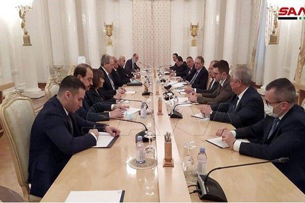 Suriye ve Rusya dışişleri bakanları bir araya geldi