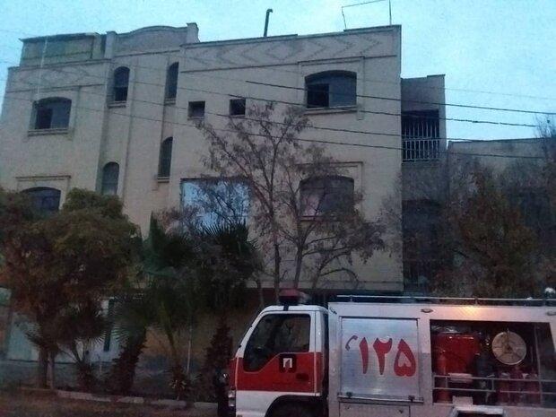 حریق در خانه سازمانی فرمانداری بندرگز/دخترفرماندار بهicu منتقل شد