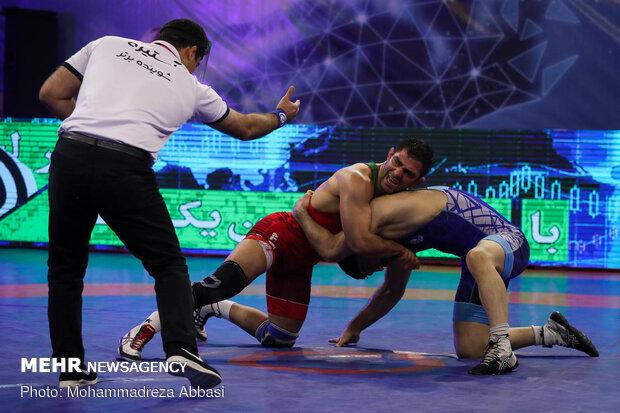 Final of Iran freestyle wrestling leagueلیگ برتر کشتی آزاد کشور