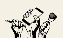 شرایط رسانه های همدان مطلوب نیست/نگاه نادرست مسئولین به رسانه