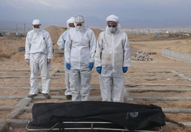 تعداد فوتیهای کرونا در البرز به ۲۴۹۶ نفر رسید