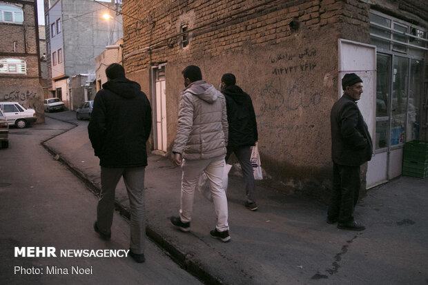 توزیع بسته های معیشتی در منطقه حیدر آباد تبریز