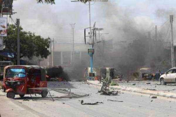 Somali'de parlamento binasının girişinde patlama