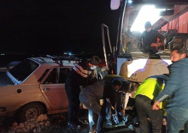 سانحه مرگبار رانندگی در شهرستان هریس/ یک نفر جان باخت