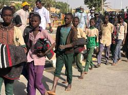 آزادی دانش آموزان نیجریه ای از دست ربایندگان