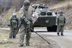 یک نظامی روس در قرهباغ کشته شد