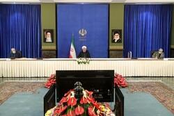 Ruhani: İran'da yüksek riskli bölge kalmadı