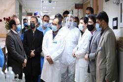 تقدیر هیئت عزاداران اربعین حسینی بازار تجریش از کادر درمانی
