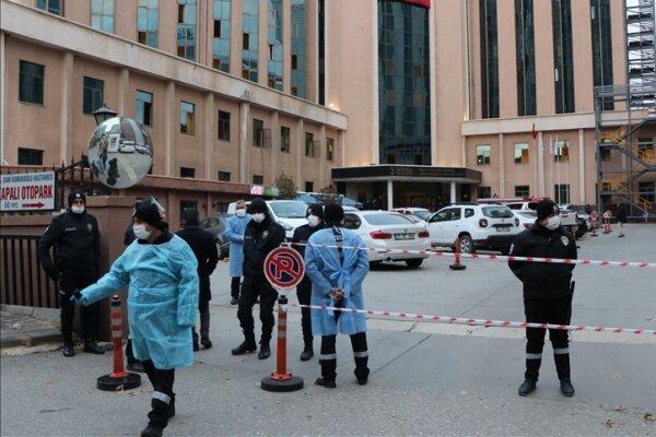 ترکی میں ایک اسپتال میں کورونا وائرس کے وارڈ میں آگ لگنے سے 9 مریض ہلاک