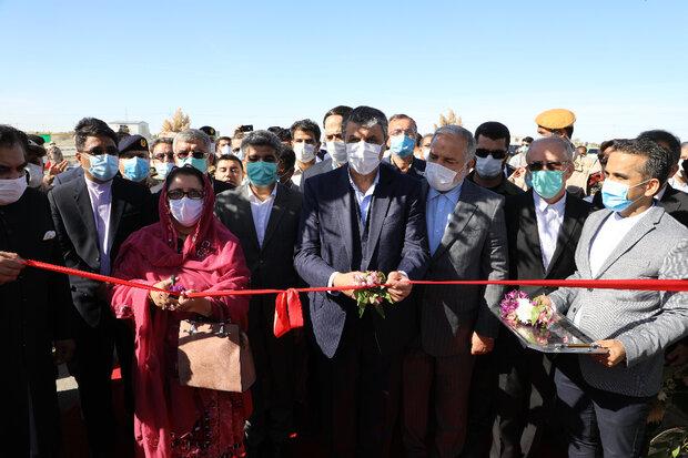 ایران اور پاکستان کے درمیان رمدان سرحد کا باضابطہ افتتاح