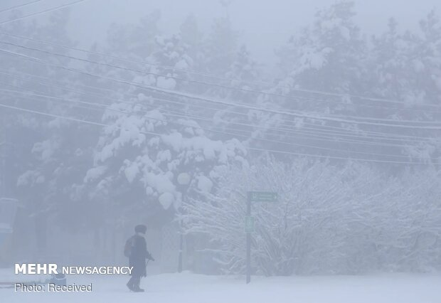 زمستان در سردترین شهر جهان