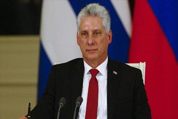 Cuban Pres. slams measures of US 'corrupt' admin.