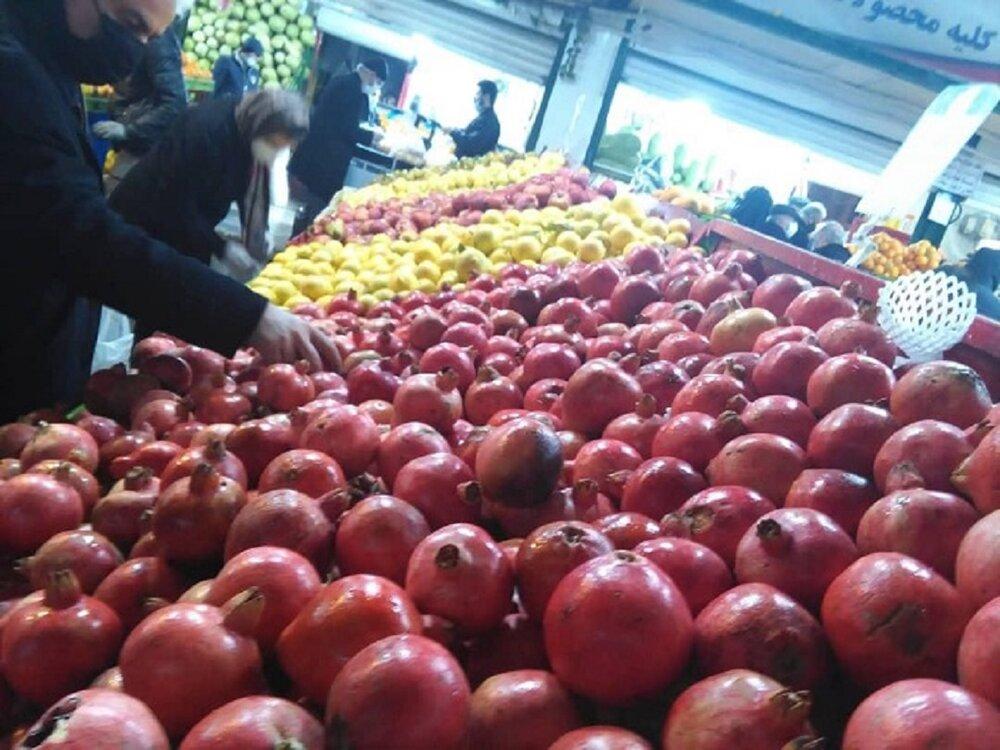 عرضه مستقیم میوه باکیفیت و قیمت مناسب در ۲۵۳ میدان میوه و ترهبار