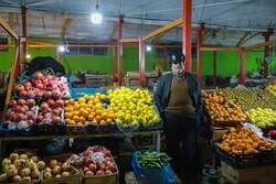 بازار بی رونق شب یلدا در زنجان
