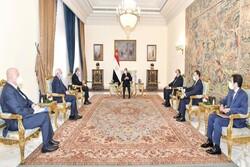 «السیسی» بر لزوم ازسرگیری مذاکرات سازش در اراضی اشغالی تأکید کرد