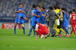 ناراحتی بازیکنان پرسپولیس - فینال لیگ قهرمانان آسیا