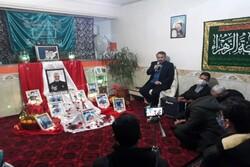 یلدای شهدایی در منزل شهید مدافع حرم
