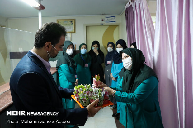 Appreciation of nurses on occasion of Nusrs's Day