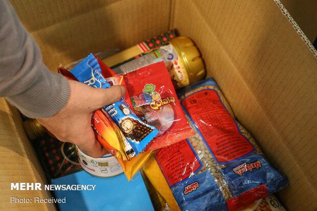 توزیع بیش از ۱۰۰۰ بسته معیشتی  در ساوجبلاغ