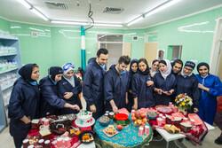 شب یلدای پرستاران در بیمارستان