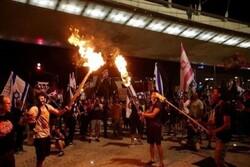 تداوم اعتراضات علیه بنیامین نتانیاهو