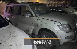 بغداد میں امریکی سفارتخانہ میں راکٹوں سے حملہ
