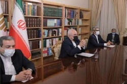 Zarif lists what he emphasized at 4+1 Ministerial Meeting