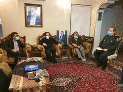 اعضای کمیسیون امنیت مجلس با خانواده شهید فخری زاده دیدار کردند