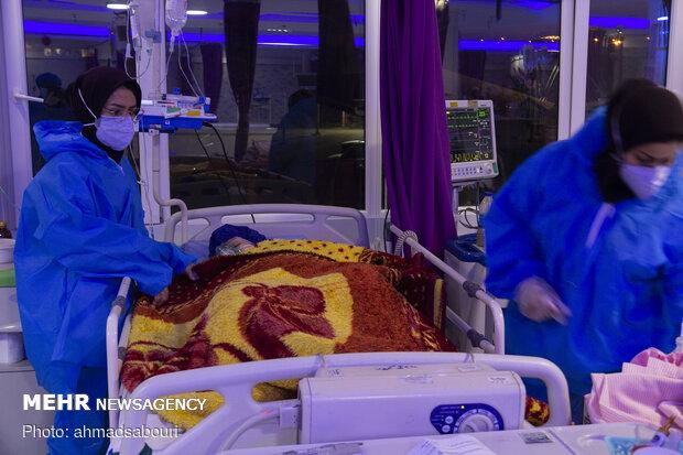 ۱۰۰ بیمار کرونایی جدید شبانه روز گذشته در گیلان بستری شدند