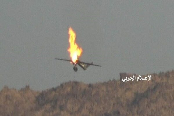 یمنی فورسز کے دفاعی سسٹم نے سعودی عرب کے حملہ آور ڈرون کو تباہ کردیا