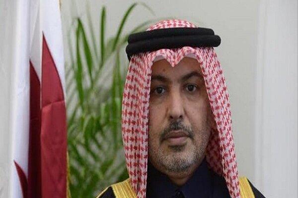 Qatari envoy hails bilateral relations with Iran as friendly